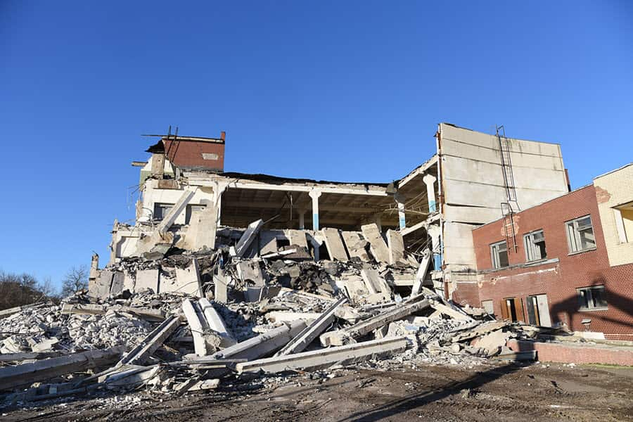 The Demolition Process for buildings and structures